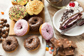 Close up of sweets on table — Stock Photo