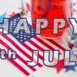 Happy 4th of july, independence day concept — Stock Photo #76468279