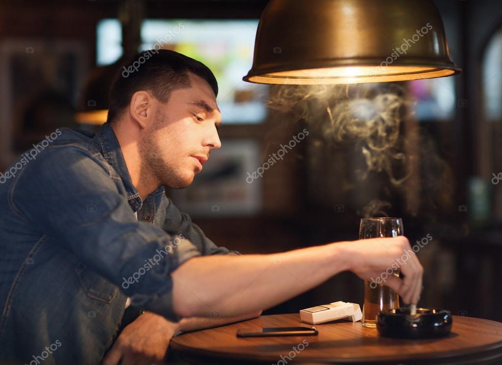 noční čas masáž kouření