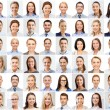 Collage with many business people portraits — Stock Photo #80947650