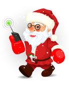 Санта-Клаус — Cтоковый вектор