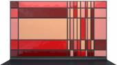Rote platten — Stockfoto