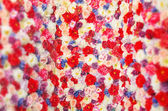 Carpet made of the colorful flowers — ストック写真