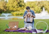 Photo presenting the romantic date — Stock Photo