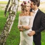 Romantic photo of the marriage couple — Stock Photo #59239767