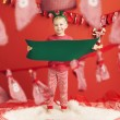 Portrait of a little elf — Stock Photo #60403413