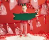 Portrait of a little elf — Stock Photo