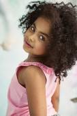 Closeup portrait of a little cute girl — Stock Photo