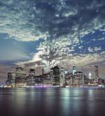 Beautiful New York City Manhattan view — Stock Photo