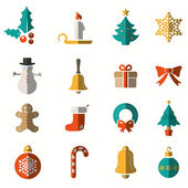 Christmas and Winter icons collection - vector — Stock Vector