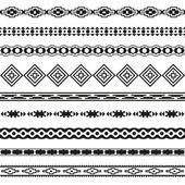 Seamless pattern. Vector illustration for tribal design. Ethnic motif. — Stock Vector