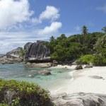 Perfect beach, Seychelles, Felicite island — Stock Photo #66933305