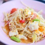 Sum-Tam, Papaya spicy salad — Stock Photo #56766735