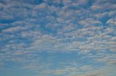 Nice clouds with sunrise light — Stock Photo
