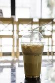 Ice coffee — Stock Photo