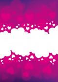 Valentine's Day Background — Stock Vector