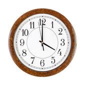 Clock face showing 4 o'clock — Stock Photo