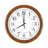 Clock face showing eight o'clock — Stock Photo