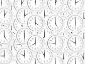 Set of clock faces — Stock Photo