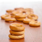 Ring shaped rolls  — Stock Photo