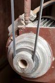 Mechanical belt driven gear — Stock Photo