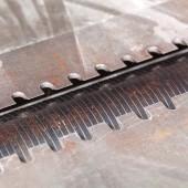 Close up of carpenter plane — Stok fotoğraf
