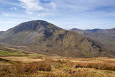 Mountain in Snowdonia national park — Stock Photo