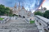 Fisherman's Bastion, Budapest, Hungary — Stock Photo