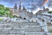 Bastião, Budapeste, Hungria do pescador — Fotografia Stock