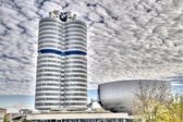 MUNICH - GERMANYOCTOBER 31: BMW building museum on June 31, 2014 — Stock Photo