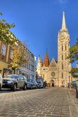 Church of Mathias Rex in Budapest, Hungary — Φωτογραφία Αρχείου