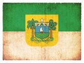 Grunge flag of Rio Grande do Norte (Brazil) — Stock Photo