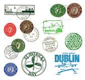 İrlanda'dan etiketleri ve pulları — Stok fotoğraf