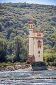 Tower in the Middle Rhine Valley — Stockfoto