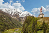 Village church in South Tyrol — Stock Photo