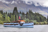 Steamship TSS Earnslaw — Stock Photo
