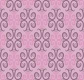 Seamless pattern, ornamental wallpaper, vector illustration — Stock Vector