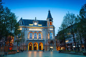 Cercle Municipal at night time — Stock Photo