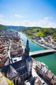 Pont Charles de Gaulle in Dinant — Stock Photo