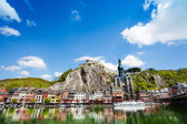 City view on Meuse river — Stock Photo