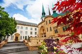 Catedral de notre-dame en luxemburgo — Foto de Stock