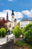 Saint Michael's Church in Luxemburg — Stock Photo