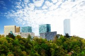 Modern buildings in Luxembourg — Stock Photo