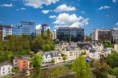Luxemburg cityscape — Stock Photo