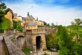 Luxemburg city view — Stock Photo