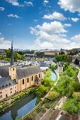 City view of Luxembourg — Stock Photo