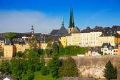 Luxemburg panorama — Stock Photo