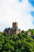 Beautiful Burg Lahneck castle — Stock Photo