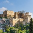View from Areopagus hill on Acropolis — Stock Photo #60489649