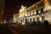 National Bank of Romania in Bucharest — Stock Photo